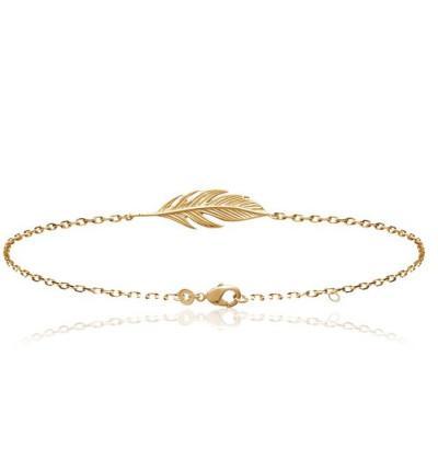 Bracelets plaque or en ligne