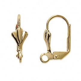 Crochet plaqué or pour oreilles LBIJOUX - 1