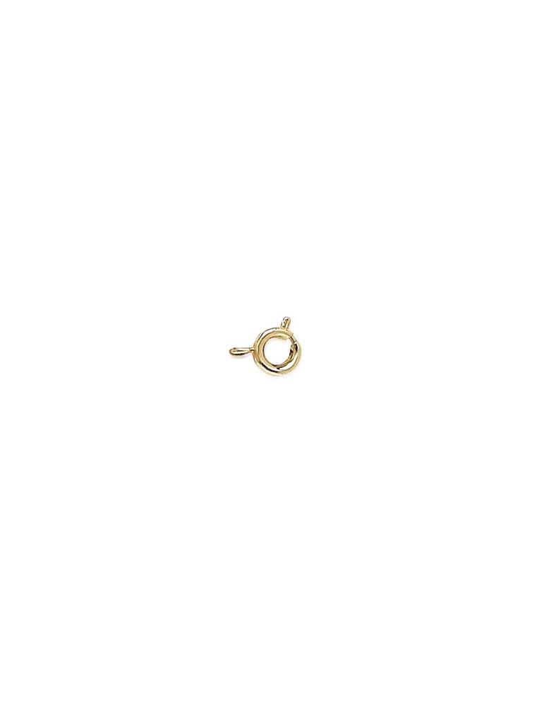 Fermoir plaqué or bracelet chaine collier chaine de cheville