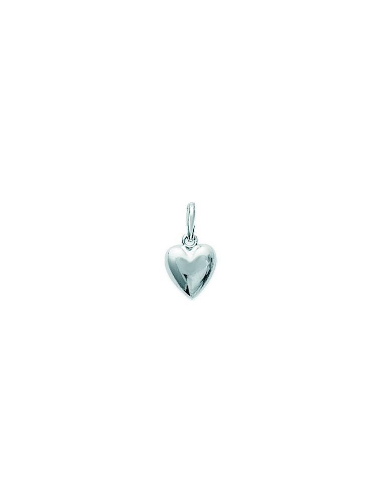 Pendentif cœur argent 925 femme