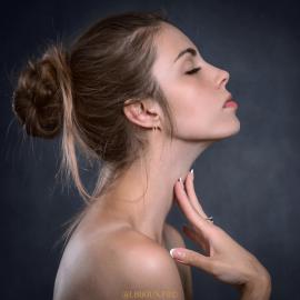 Boucles d'oreilles plaqué or maillons rectangulaires femme