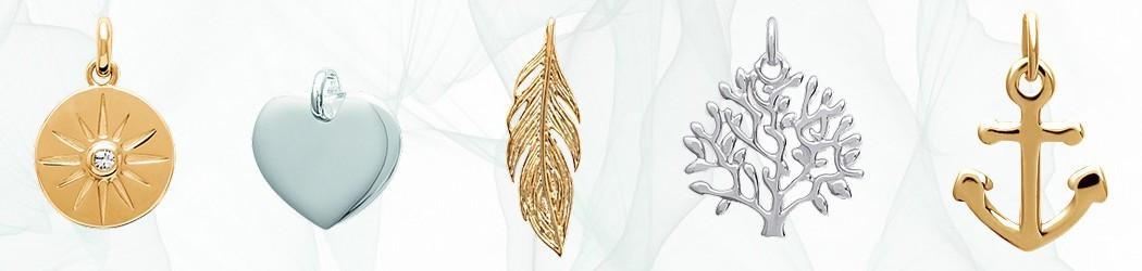 Pendentifs Lbijoux en or 750, argent, acier ou plaqué or