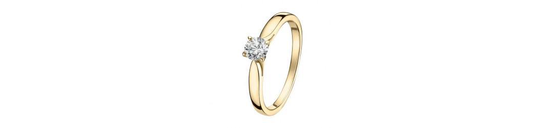 Bagues de fiançailles Lbijoux en or 750 et diamants naturels