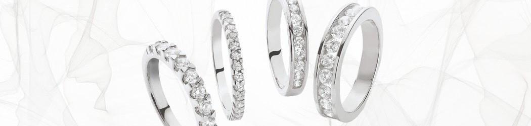 Or 750 et diamants de synthèse
